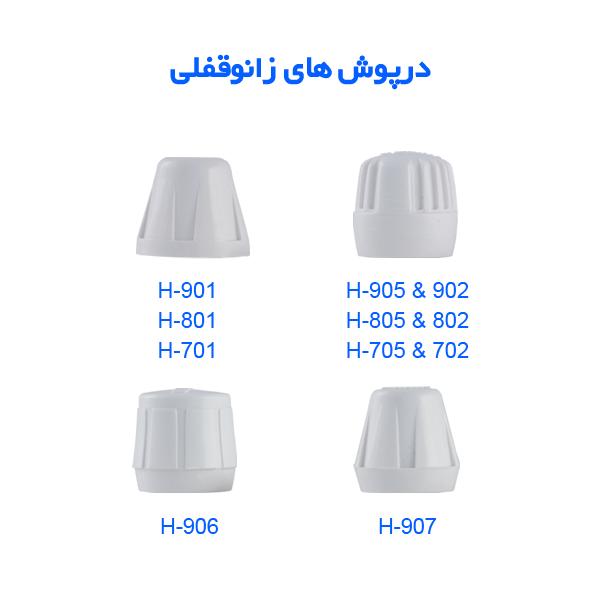 دستگیره  های شیر رادیاتور سامین